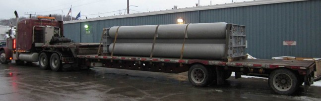 8 Tubes @ 4500psi 1200+ Diesel Gallon Equivalent of CNG